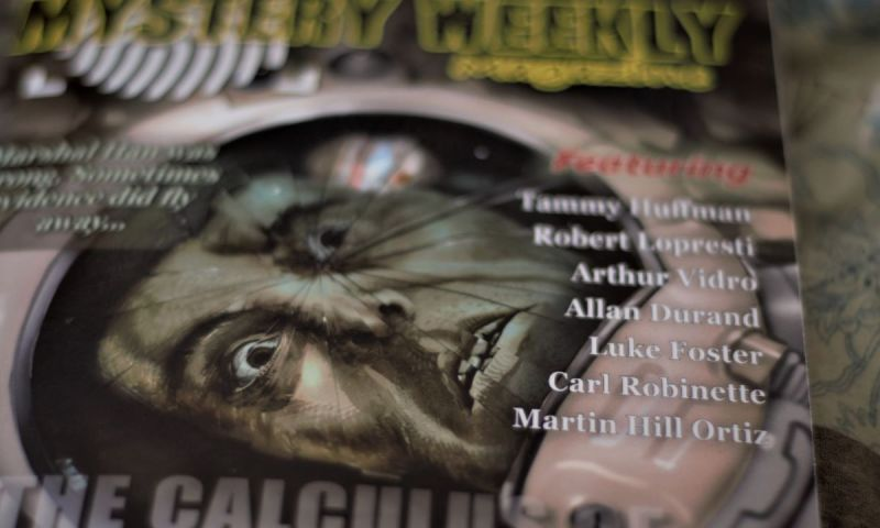 nothing doing short story by carl robinette in mystery weekly magazine small
