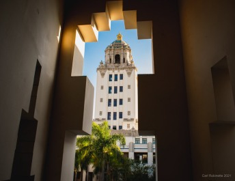 beverly hills civic center architecture
